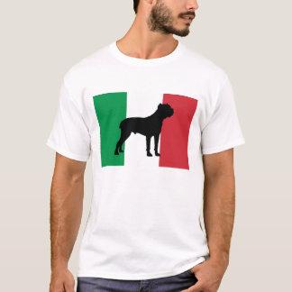 flagga Italy.png för käppcorsosilhouette Tee Shirts