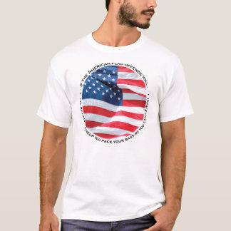 Flagga kränker dig skjortan t shirts