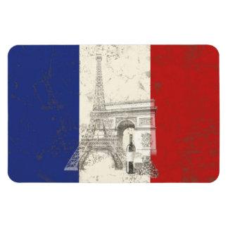 Flagga och symboler av frankriken ID156 Magnet