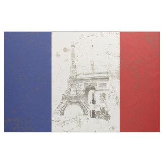 Flagga och symboler av frankriken ID156 Tyg