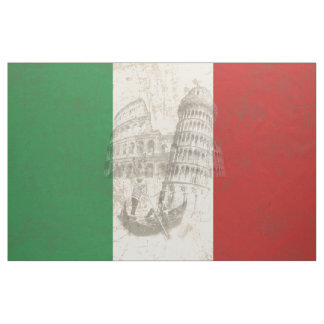 Flagga och symboler av italien ID157 Tyg