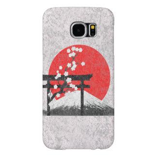 Flagga och symboler av Japan ID153 Samsung Galaxy S6 Fodral