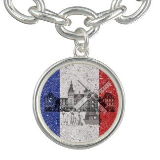 Flagga och symboler av Nederländerna ID151 Berlockarmband