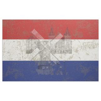 Flagga och symboler av Nederländerna V2 ID151 Tyg