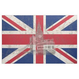 Flagga och symboler av Storbritannien ID154 Tyg