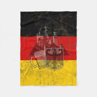 Flagga och symboler av Tysklandet ID152 Fleecefilt