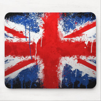 flagga uk Mousepad Musmatta
