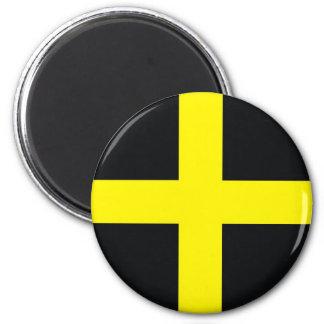 flagga United Kingdom wales för saintdavid kor Magnet