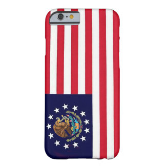 FlaggaIphone 6 för amerikan mexicanskt fodral Barely There iPhone 6 Fodral