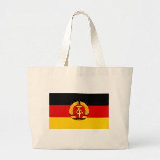Flagge der DDR - flagga av GDREN (East Germany) Jumbo Tygkasse