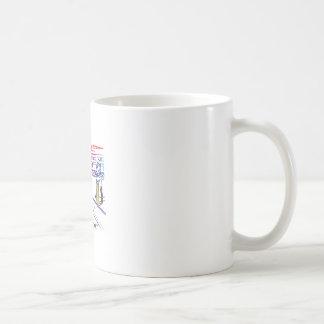 Fläkt av lekar av syrsan kaffemugg