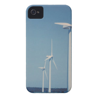 FLÄKTAR av alternativ energi: VIND som är sol-, iPhone 4 Case-Mate Case