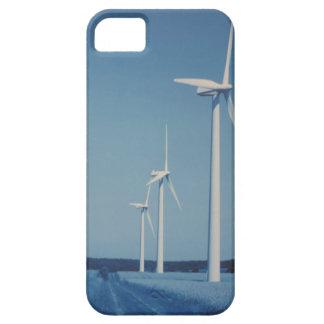 FLÄKTAR av alternativ energi: VIND som är sol-, iPhone 5 Fodral