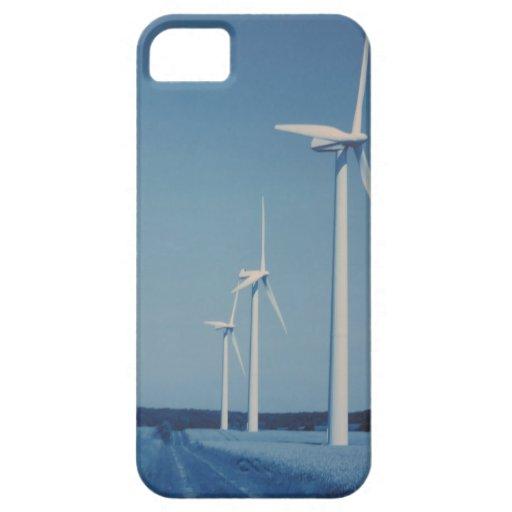 FLÄKTAR av alternativ energi: VIND som är sol-, vä iPhone 5 Case-Mate Skydd