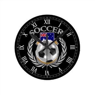 Fläkten för Australien fotboll 2016 utrustar Rund Klocka