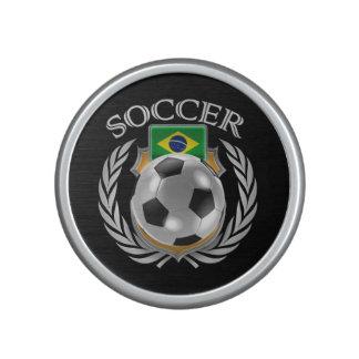 Fläkten för Brasilien fotboll 2016 utrustar Bluetooth Högtalare