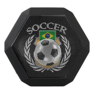 Fläkten för Brasilien fotboll 2016 utrustar Svart Bluetooth Högtalare
