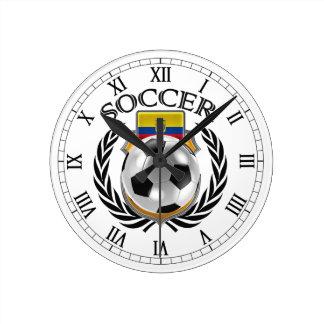 Fläkten för Ecuador fotboll 2016 utrustar Rund Klocka