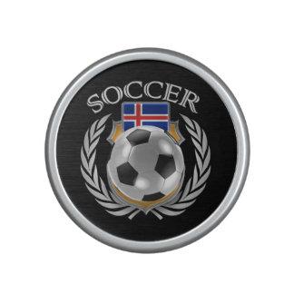 Fläkten för islandfotboll 2016 utrustar högtalare