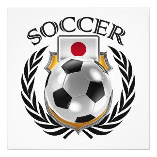 Fläkten för Japan fotboll 2016 utrustar Fototryck