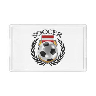 Fläkten för Österrike fotboll 2016 utrustar Bricka