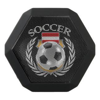 Fläkten för Österrike fotboll 2016 utrustar Svart Bluetooth Högtalare