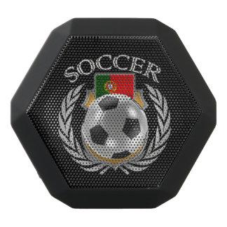 Fläkten för Portugal fotboll 2016 utrustar Svart Bluetooth Högtalare