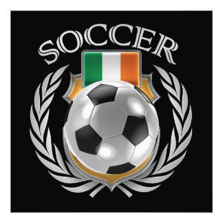 Fläkten för Republic of Ireland fotboll 2016 Fototryck