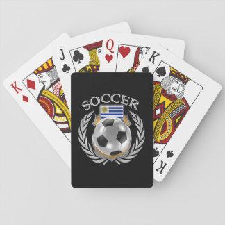 Fläkten för Uruguay fotboll 2016 utrustar Casinokort
