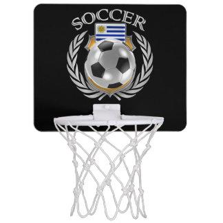 Fläkten för Uruguay fotboll 2016 utrustar Mini-Basketkorg