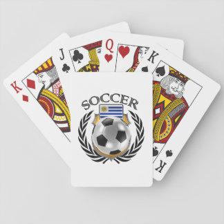 Fläkten för Uruguay fotboll 2016 utrustar Spelkort