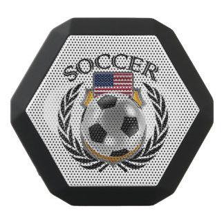 Fläkten för USA fotboll 2016 utrustar Svart Bluetooth Högtalare