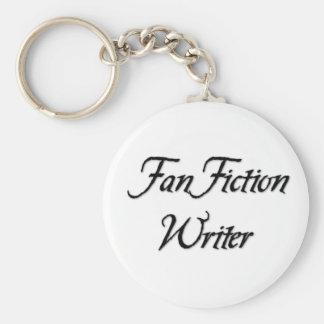 Fläktfiktionförfattare Nyckelring