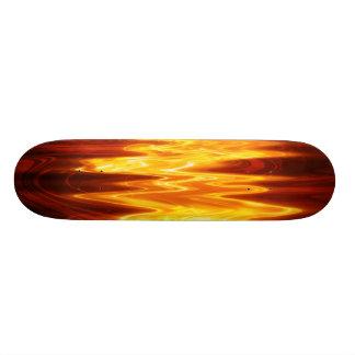 Flame är den kända skateboarden för mini skateboard bräda 18,5 cm