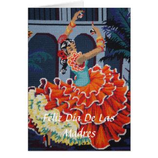 Flamencodansare Feliz Día De Las Madres Kort
