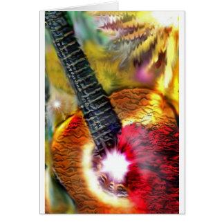Flamencosolljus Hälsningskort
