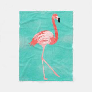 Flamingo Burd Fleecefilt