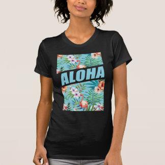Flamingo för Wellcoda Aloha Hawaii strandvild Tröjor
