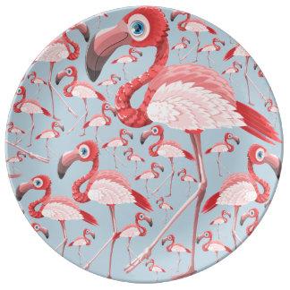 Flamingo Tallrikar I Porslin