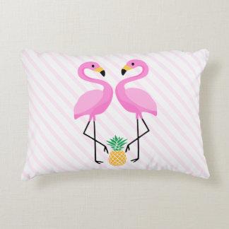 Flamingoen kudder prydnadskudde