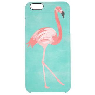 Flamingofågel Clear iPhone 6 Plus Skal