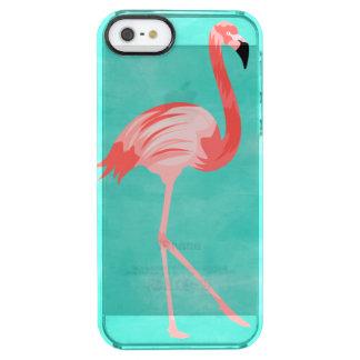 Flamingofågel Clear iPhone SE/5/5s Skal