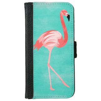 Flamingofågel iPhone 6/6s Plånboksfodral