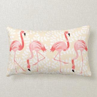 Flamingofåglar Lumbarkudde