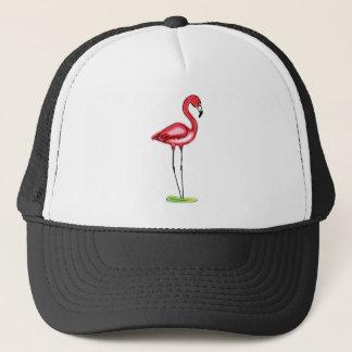 Flamingohatt Truckerkeps
