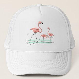 FlamingosTrio truckerkeps för 2 grupp