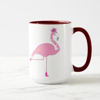 Flamingosvart 15 uns Ringermugg
