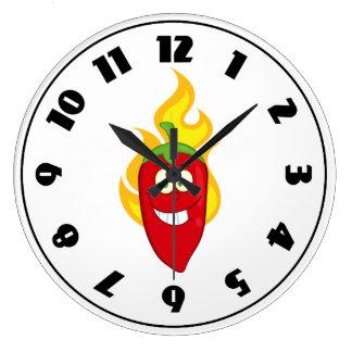 Flammande Chilipeppar tar tid på Stor Klocka