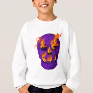 Flammande skallelilor t-shirts