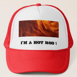 flammar I-förmiddagen en HOT ROD! Keps